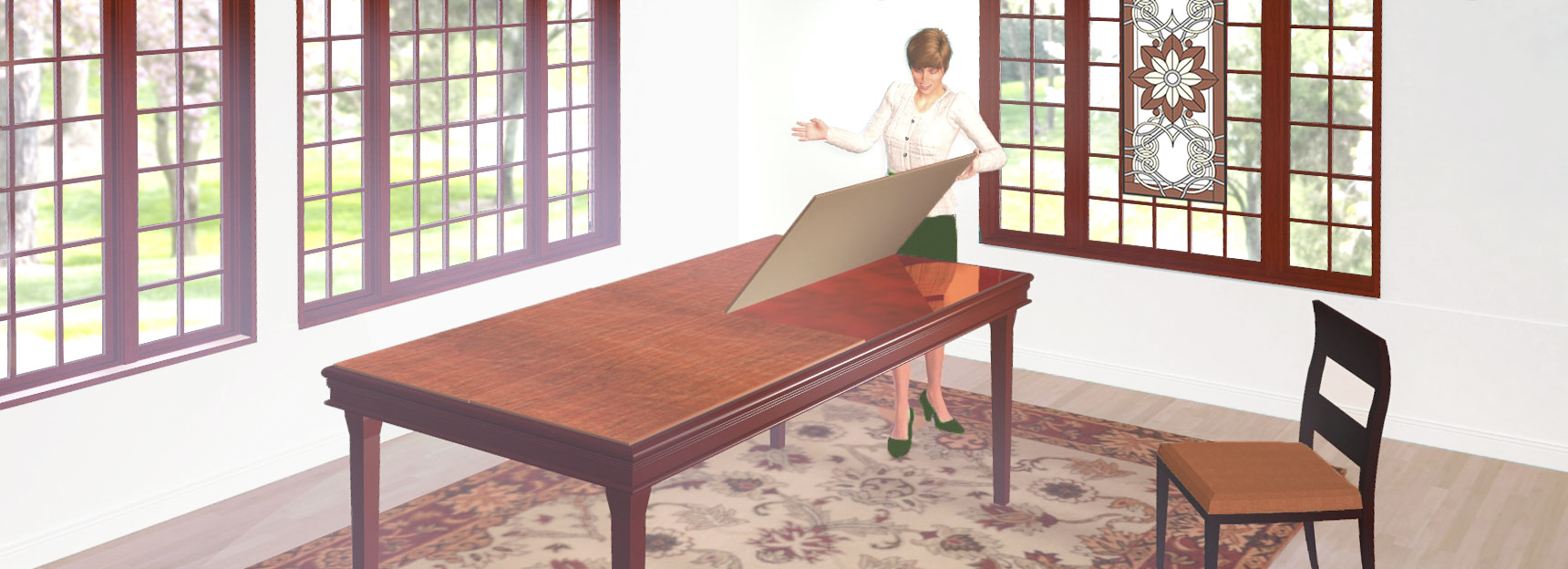 Table pad for