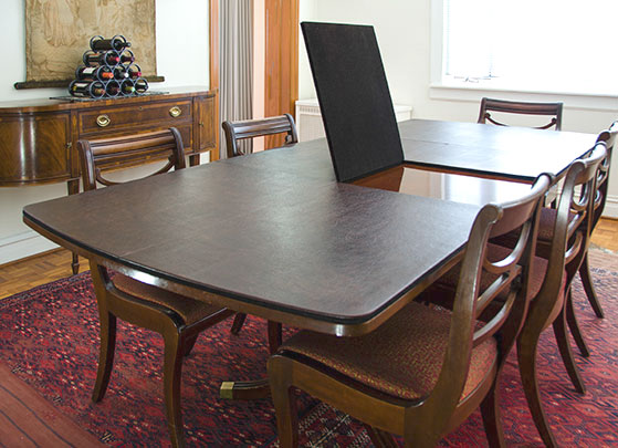 custom table pads - Protective Table Pads Dining Room Tables
