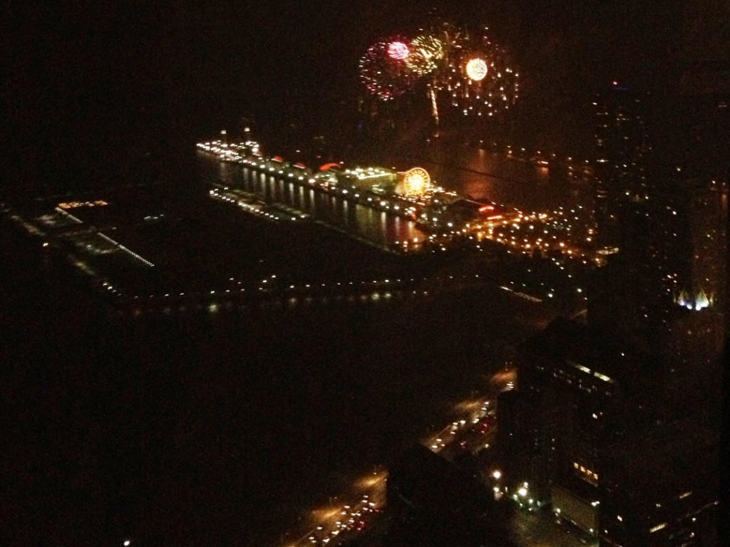 Fireworks at Navy Pier