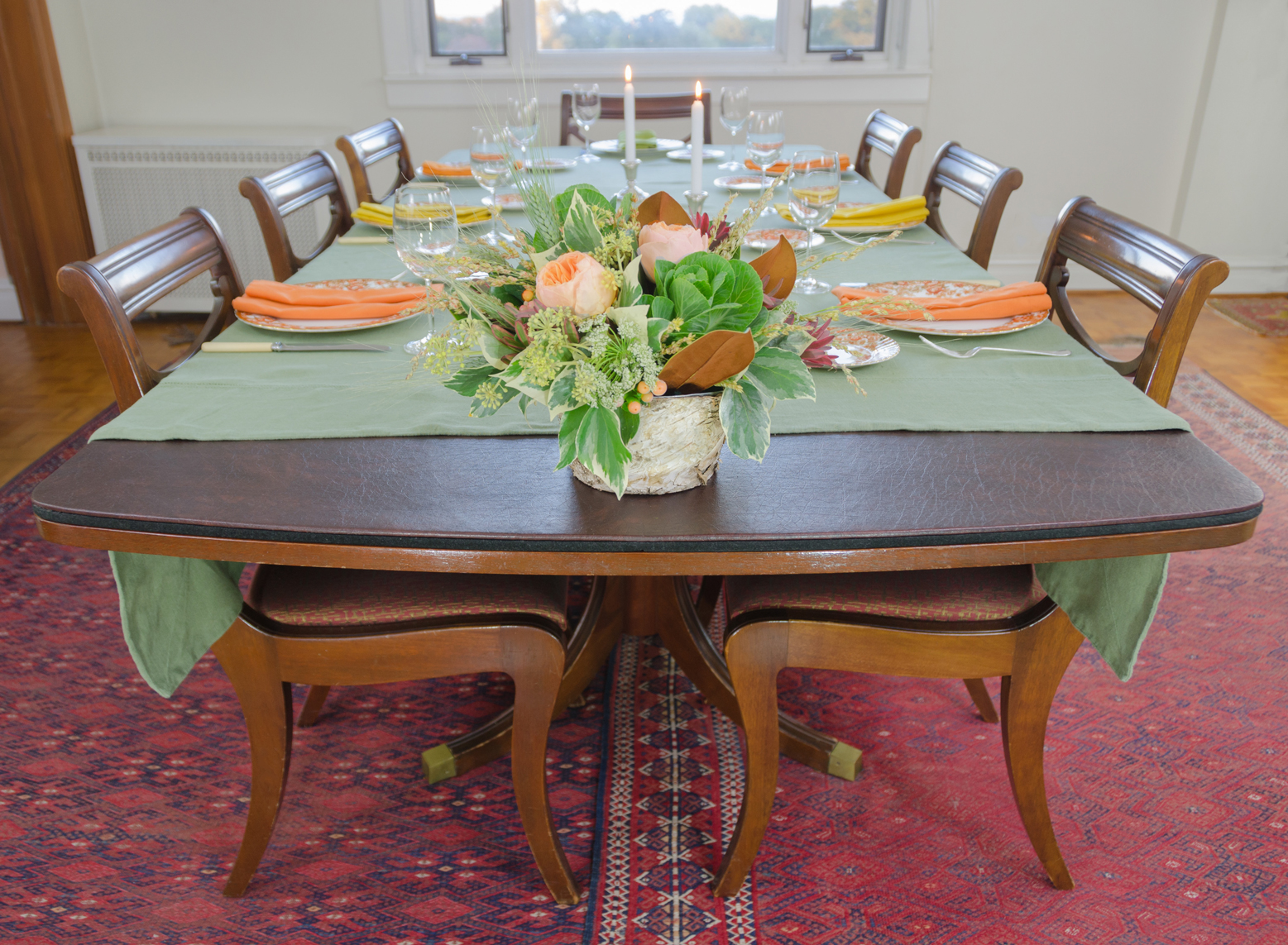 Lovely Dining Room Table Pads For Thanksgiving