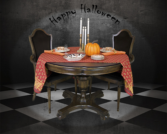 Table pads for Halloween