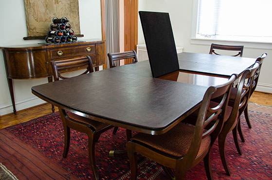 protective pads for dining room table | Dining Table Covers | Table Top Pads, Table Protectors ...